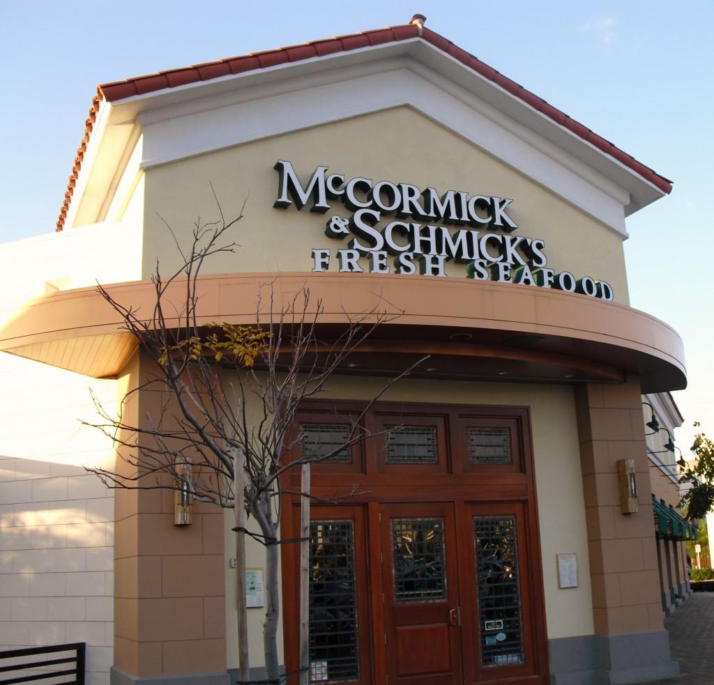 McCormick & Schmick's in Santa Ana