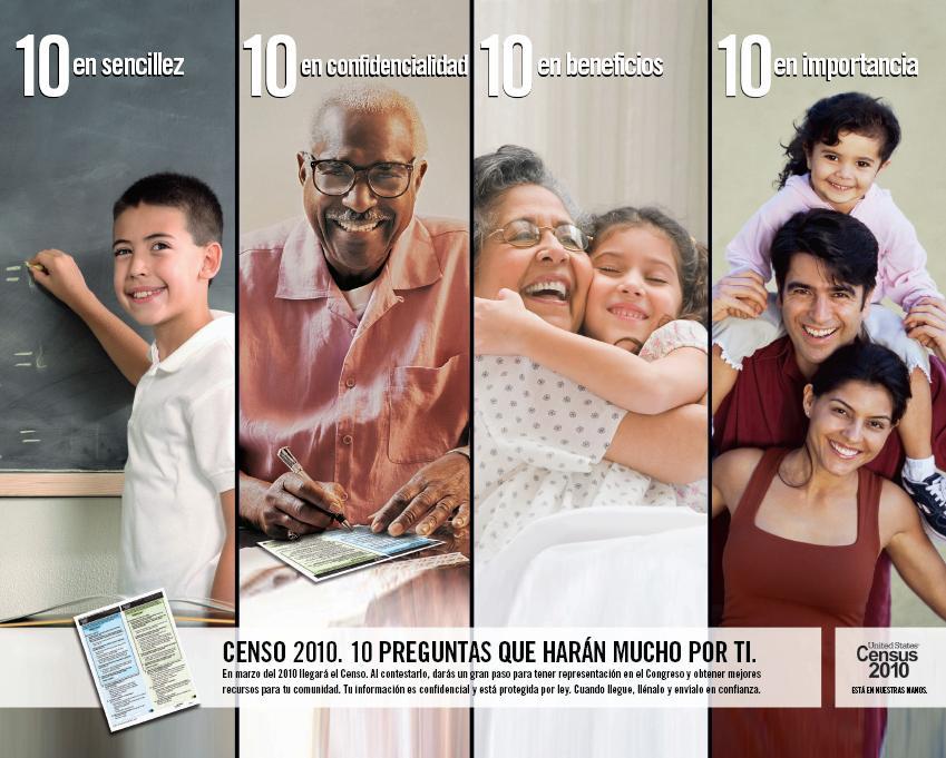 Census Immigrant Awareness Poster