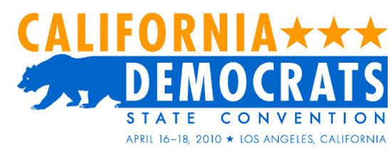 2010 Democratic California Convention Logo