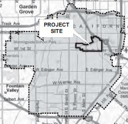 Santa Ana Transit Zone