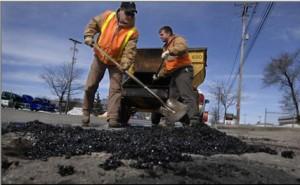 Santa Ana road repair