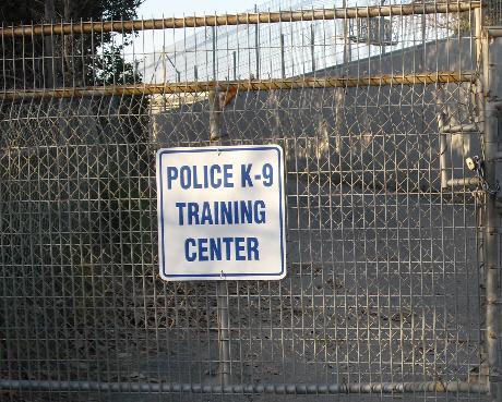 Santiago Park SAPD dog facility