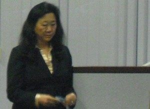 Audrey Yamagata-Noji at Forum