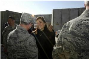 Loretta Sanchez in Afghanistan