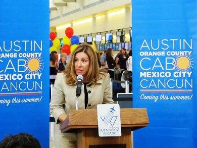 Alejandra Garcia Williams, Consul of Mexico in Santa Ana
