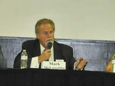 Mark McLoughlin at the forum