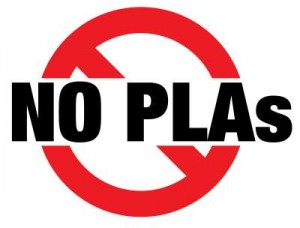 No PLAs