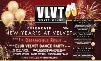 Velvet Lounge NYE