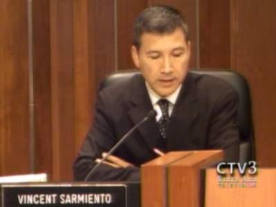 Councilman Vincent Sarmiento