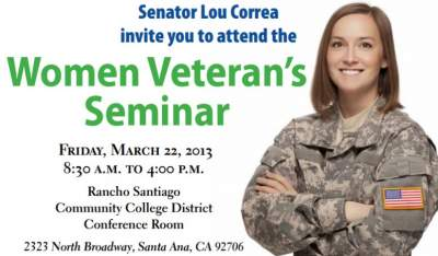 Women Veteran's Seminar