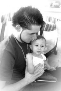 Daniel Rodriguez and Baby Malaikye