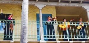 Mariachi Sunday at the GreenParrot Villa
