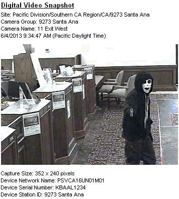 U.S. Bank robber