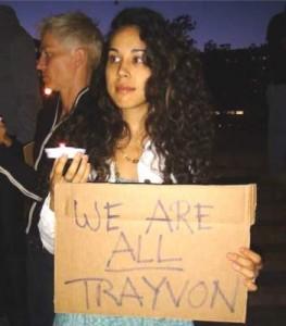 Santa Ana Trayvon Martin Vigil