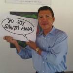 Sarmiento is Santa Ana