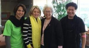 Leila Andres, Angela Acevedo, Jane Ka'ala Pang & Charlene Kazner