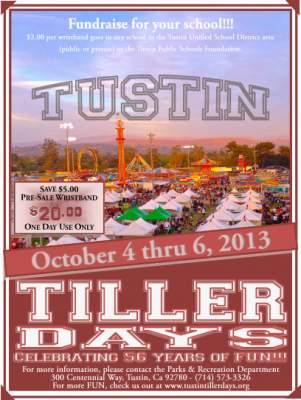 Tustin Tiller Days