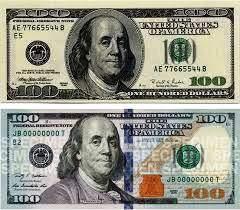 New U.S. $100 bill