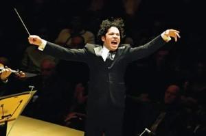 Conductor Gustavo Dudamel (credit Los Angeles Philharmonic)