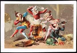 clowns cooking