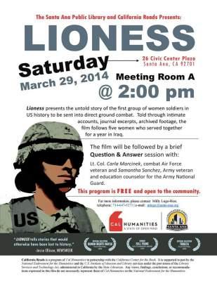 Lioness event