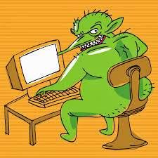 Blog troll