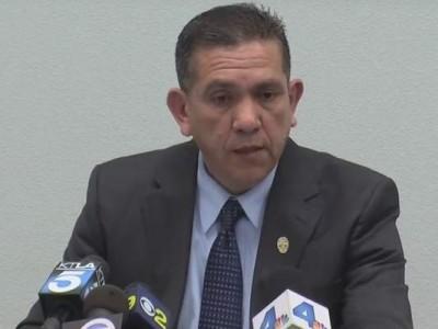 SAUSD School Police Chief Hector Rodriguez
