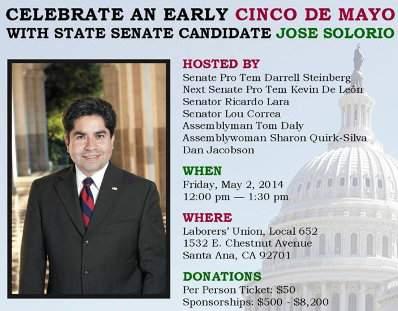 Early Cinco de Mayo Event