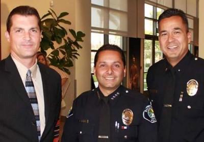 Santa Ana Police Chief Carlos Rojas