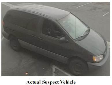 café La Me robbery vehicle