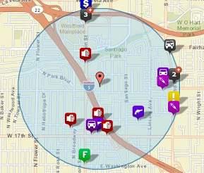 Crime in and around Park Santiago
