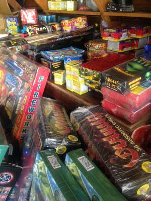 More illegal fireworks found in Santa Ana