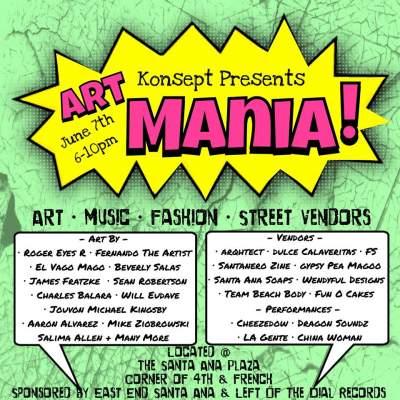 Santa Ana Art Mania