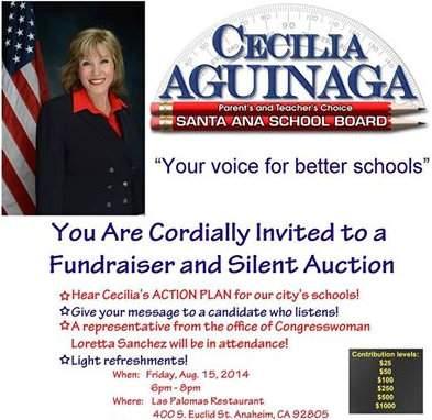 Cecilia Iglesias campaign event