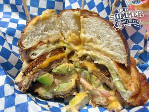 Grantburgers' New Chile Relleno Pretzel Burger