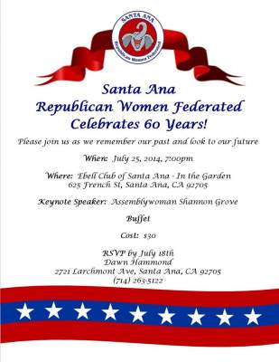 Santa Ana Republican women