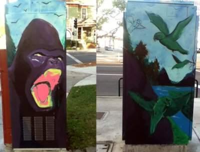 Tony Pedraza Utility Art Box work