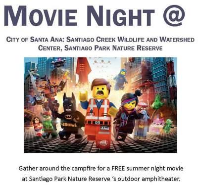 Santiago Creek Lego Movie Night