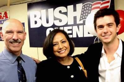 Rosario Marin promoted Bush Cheney