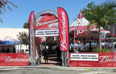 Santa Ana Fiestas Patrias Beer Garden
