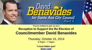 Benavides fundraiser
