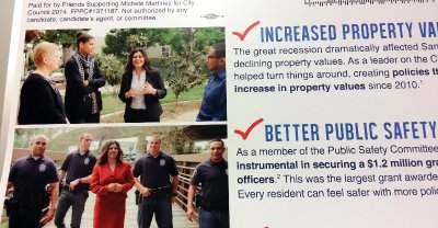 Michele Martinez owes the Santa Ana police an apology
