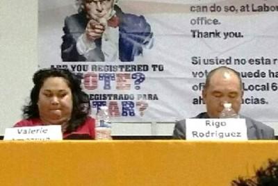 Valerie Amezcua and Rigo Rodriguez