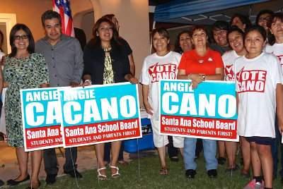 Vote Cano Supporters
