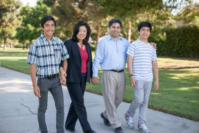 Jose Solorio and family