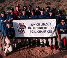 NESALL 2014 Junior League Champions