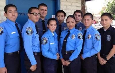 Santa Ana Police Explorers