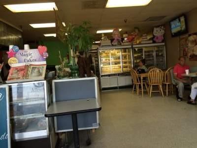 Inside of Cholula's Bakery