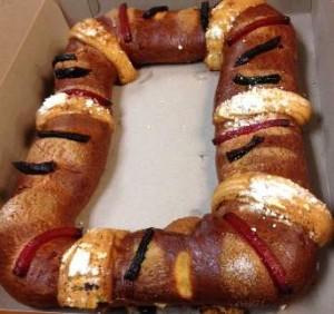 Nasty Rosca de Reyes Bread