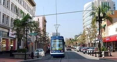 Simulation of the Santa Ana Streetcar